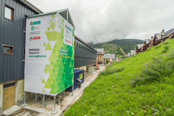 Caldera de biomasa para instalación deportiva municipal
