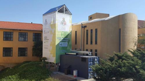 Caldera de biomasa para centro geriátrico y asistencial