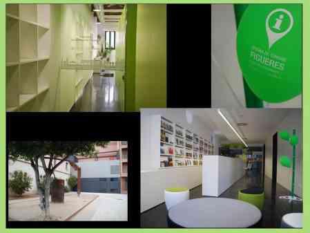 Fachada ventilada de madera certificada para la oficina de turismo de Figueres - CANO 3