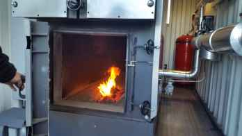 Caldera de biomasa para nuevo secadero de jamones