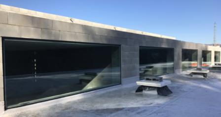 Cerramientos exteriores para nuevo edificio de servicios - DERI 4