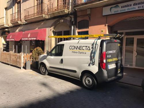 Ampliación de la red de fibra óptica de Castellgalí - CONNECTA