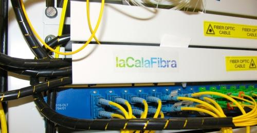 Ampliación de la red de fibra óptica de l'Ametlla de Mar