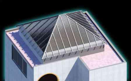 Cubierta de cristal para edificio geriátrico - DERI 8