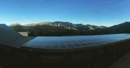 """Más energía solar para el ecohotel """"Mar de Fulles"""""""