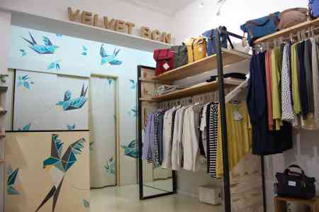 Nueva tienda de moda sostenible - VELVET BCN