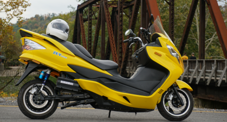 Compra de moto eléctrica ZEV LRC