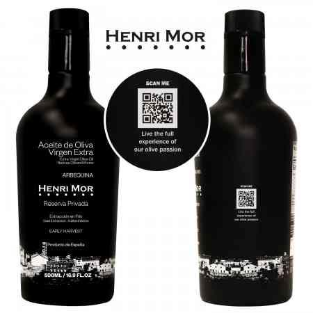 Nueva línea de envases para Aceite de Oliva Virgen Extra - HENRI MOR-4