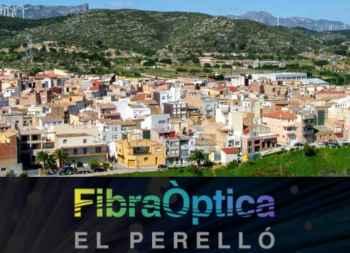 Red de fibra óptica para El Perelló (Tarragona)