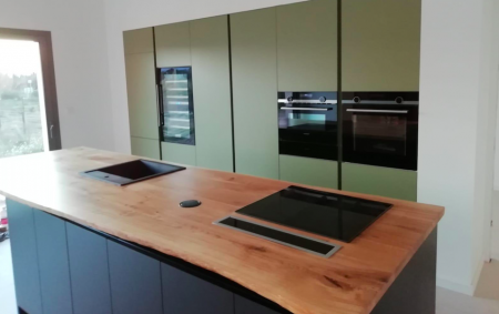 Muebles de cocina de maderas sostenibles. FUSTERIA CANO-15
