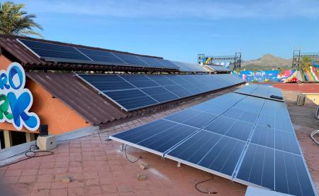 Energía solar para Hidropark Alcudia