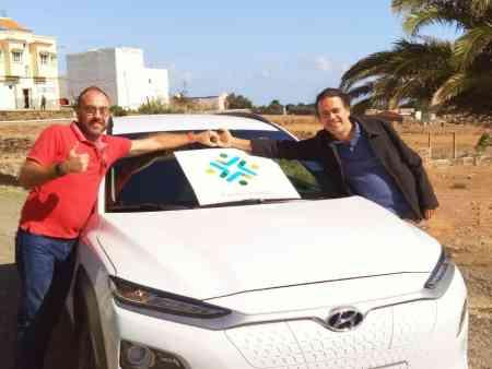 Vehículo eléctrico para gestor energético de Gran Canaria