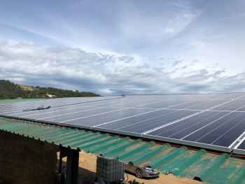 Energia Solar para Granja Mas Colomer