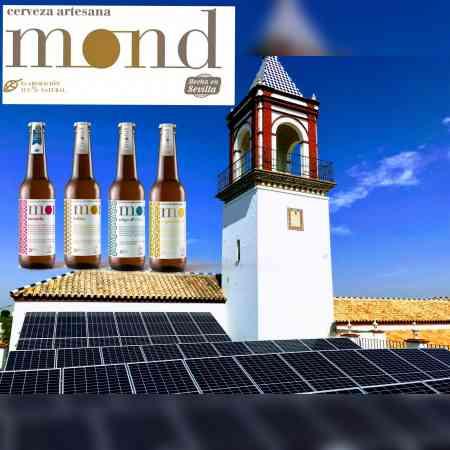 Energía solar para CERVEZAS MOND