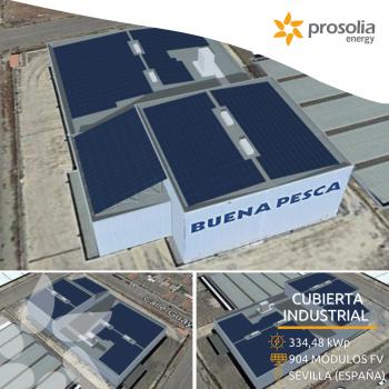 Autoconsumo solar para Buena Pesca (Sevilla)
