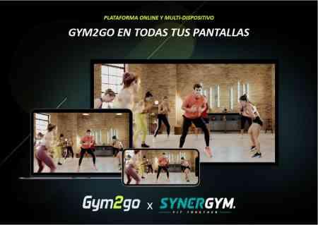 Gym2Go - fitness online