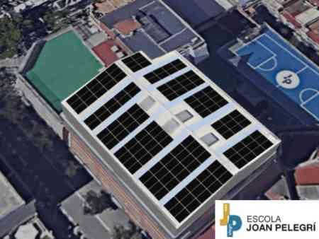 Energia Solar  per a l'Escola Joan Pelegrí